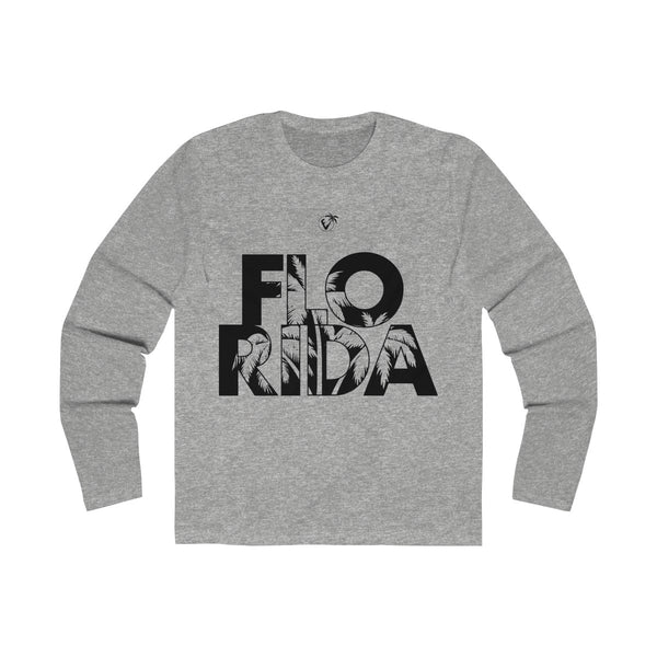 FloRida Long Sleeve Grey T-Shirt