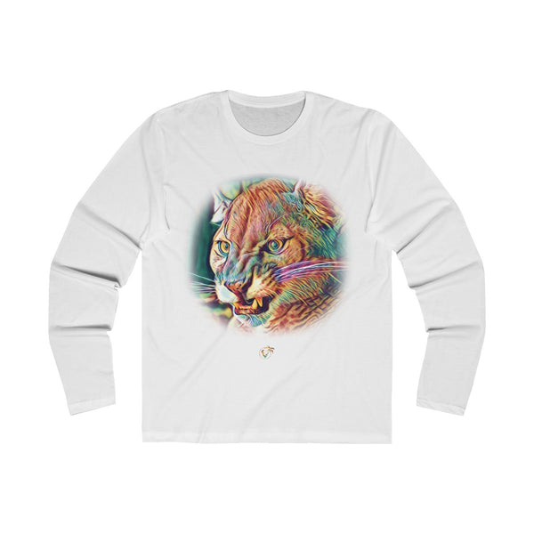 The Florida Panther Long Sleeve White T-Shirt