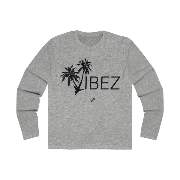 V.I.B.E.Z  Long Sleeve Grey T-Shirt