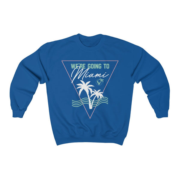 We're Going To Miami Crewneck Sweatshirt