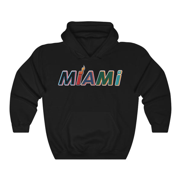 New Era Miami Black Hoodie