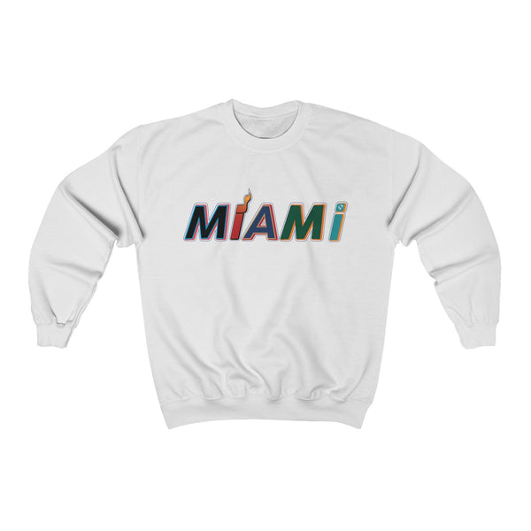 New Era White Sweatshirt