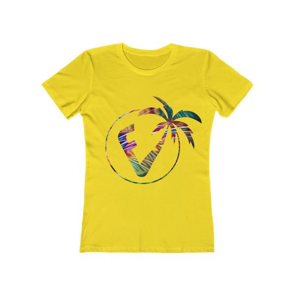 Exotic Vibez Ladies Yellow T-Shirt