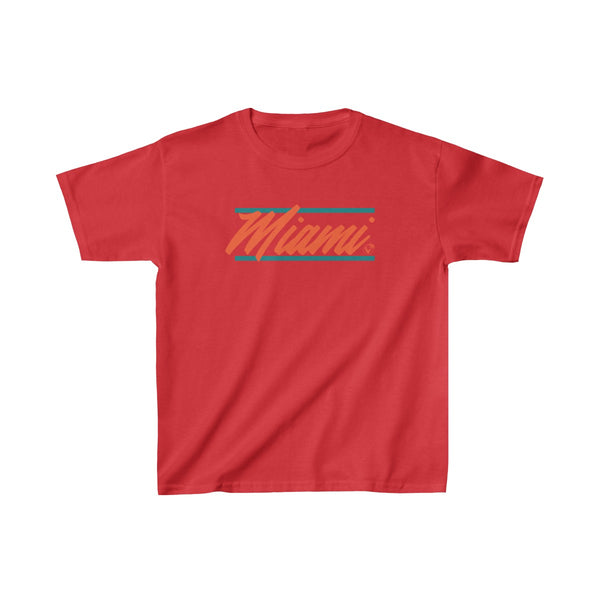 U are Miami Kids Red T-Shirt