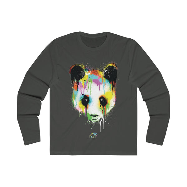 Panda Vibez Long Sleeve Heavy Meta T-Shirt