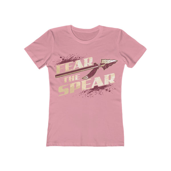 Fear The Spear Ladies Pink T-Shirt