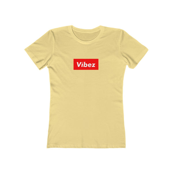 Hype Vibez Ladies Banana Cream T-Shirt