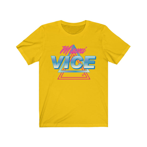 Welcome to Miami Vice Yellow T-Shirt