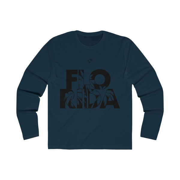 FloRida Long Sleeve Navy Blue T-Shirt
