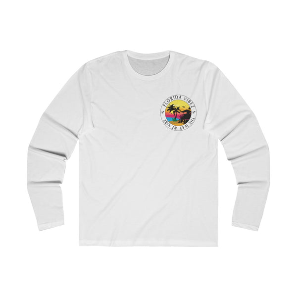 The Way We Vibe Long Sleeve White T-Shirt