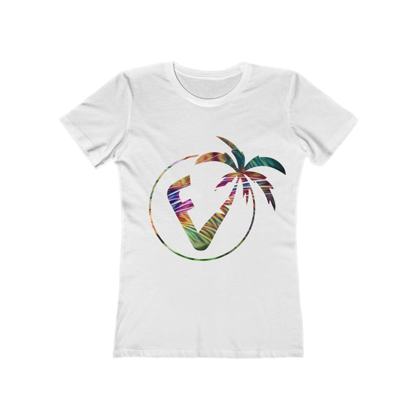 Exotic Vibez Ladies White T-Shirt