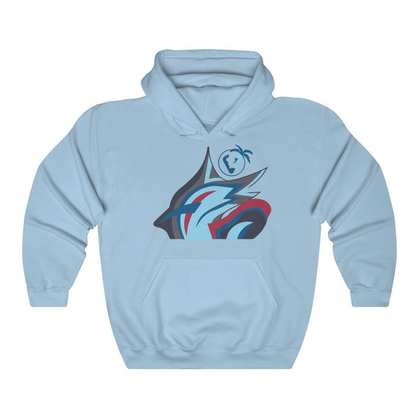 Marlin Vibez Hoodie - Light Blue