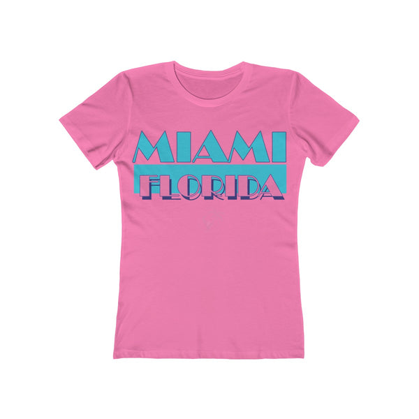Miami Vice Ladies Pink T-Shirt