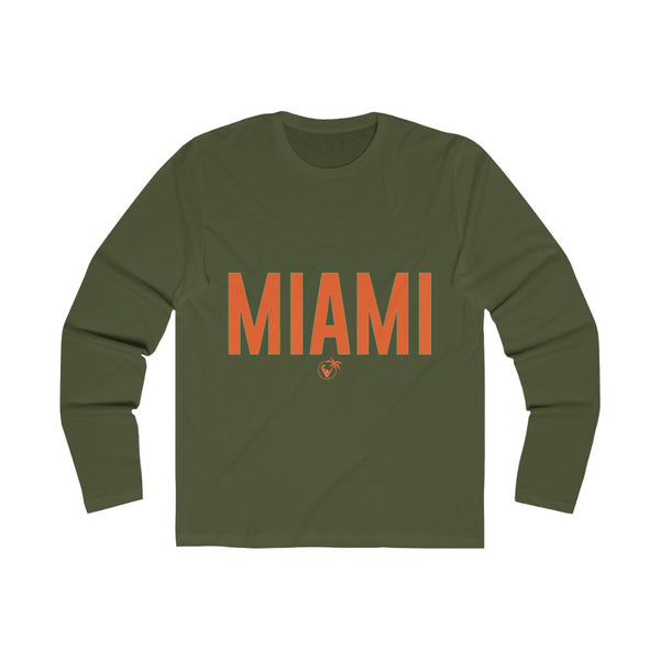 Miami Long Sleeve military green