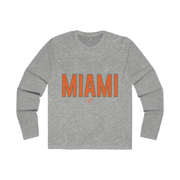 Miami Long Sleeve grey