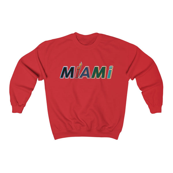New Era Red Sweatshirt