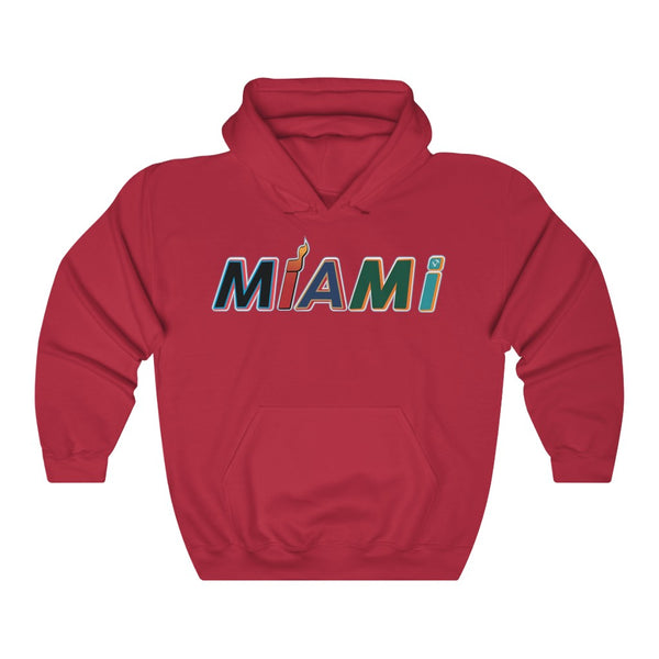 New Era Miami Red Hoodie