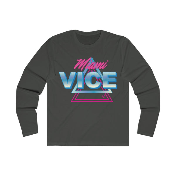 Welcome to Miami Vice Long Sleeve Heavy Meta T-Shirt