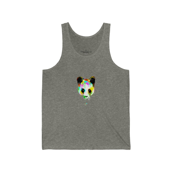 Panda Vibez Grey Tanks