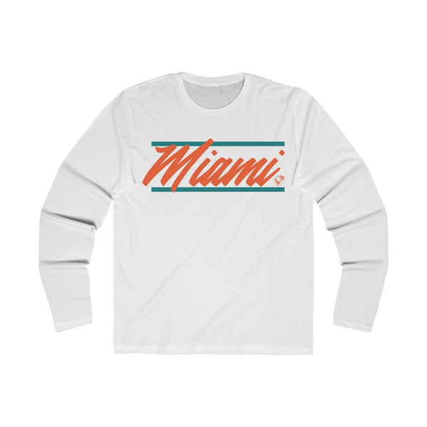 U are Miami Long Sleeve White T-Shirt