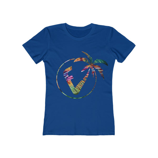 Exotic Vibez Ladies Royal Blue T-Shirt