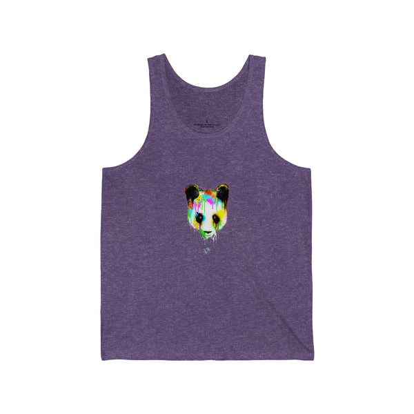 Panda Vibez Purple Tanks