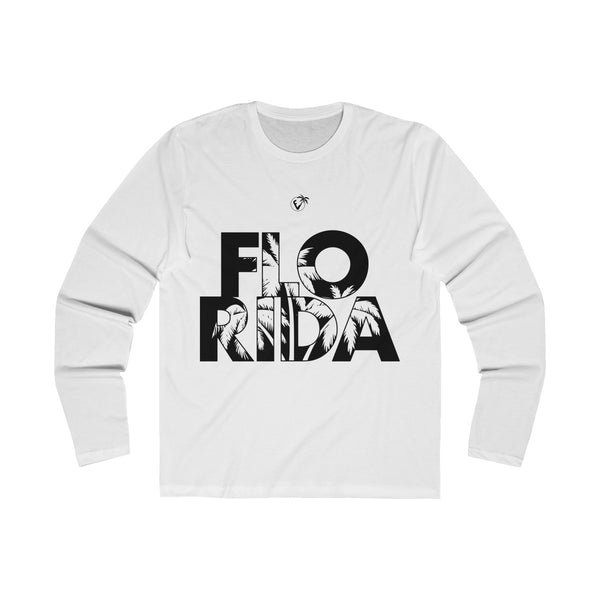 FloRida Long Sleeve White T-Shirt