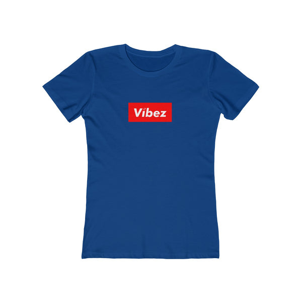 Hype Vibez Ladies Royal Blue T-Shirt