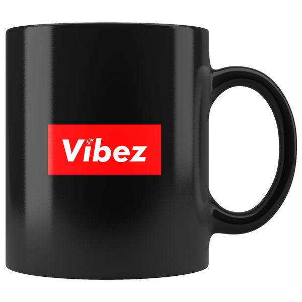 Hype Vibez - 11oz Black Mug