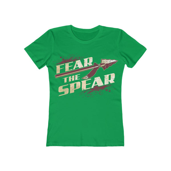 Fear The Spear Ladies Green T-Shirt