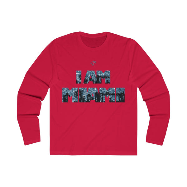 I Am Miami Long Sleeve Red T-Shirt
