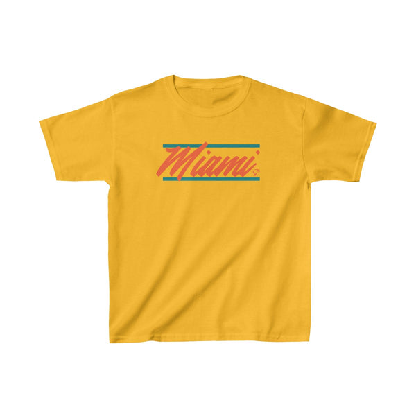 U are Miami Kids Gold T-Shirt
