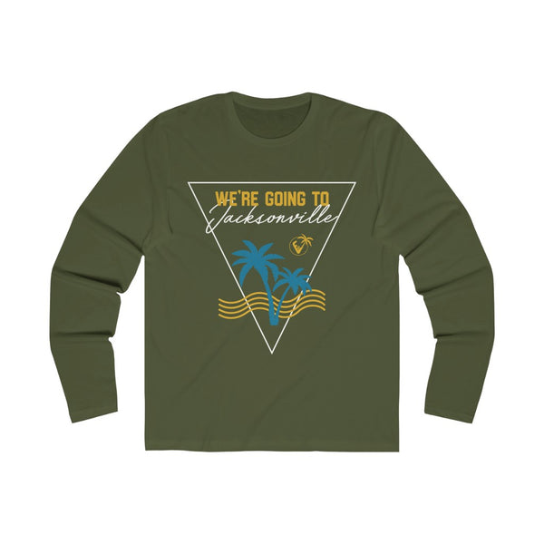 We're Going To Jacksonville Long Sleeve military green