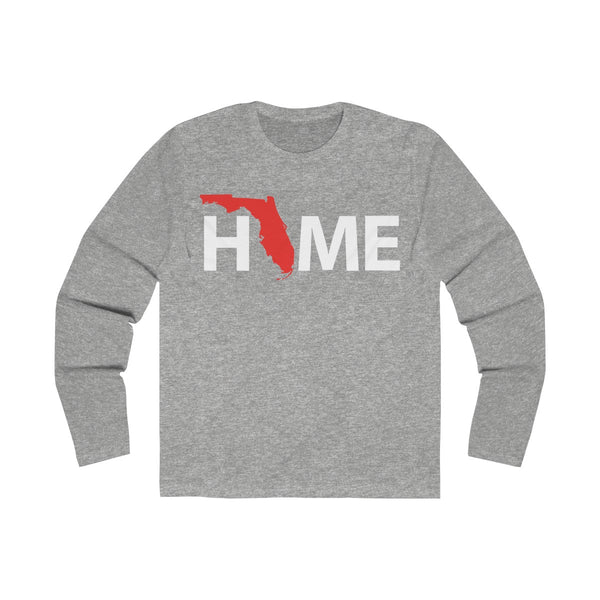 Home Long Sleeve Grey T-Shirt