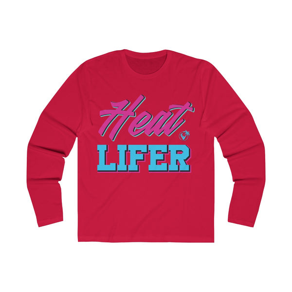 Heat Lifer Long Sleeve Red T-Shirt