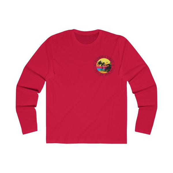 The Way We Vibe Long Sleeve Red T-Shirt