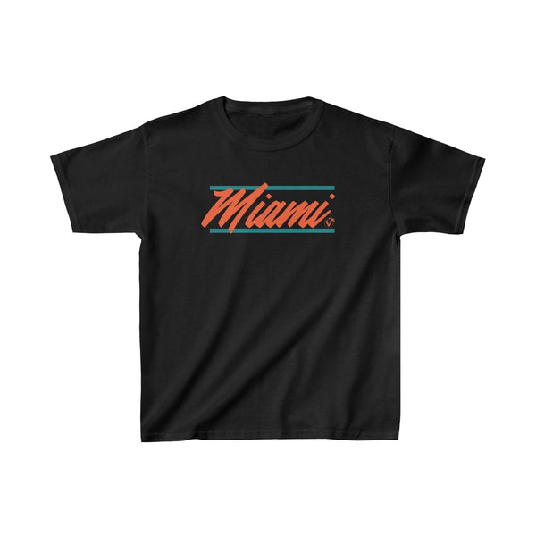 U are Miami Kids Black T-Shirt