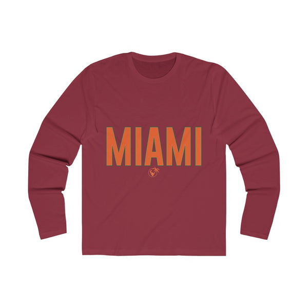 Miami Long Sleeve scarlet red