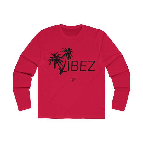 V.I.B.E.Z  Long Sleeve Red T-Shirt