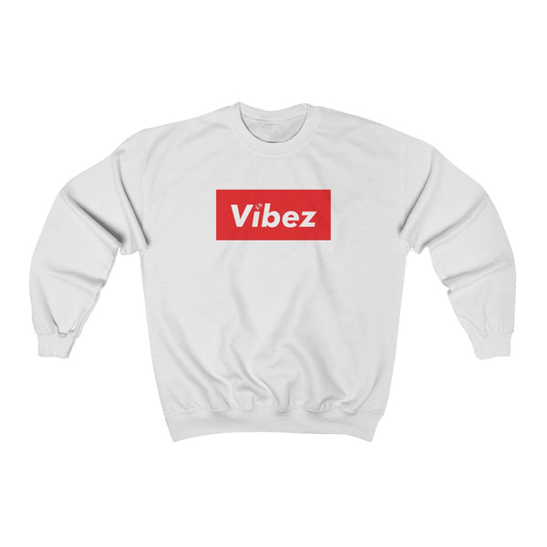 Hype Vibez White Sweatshirt