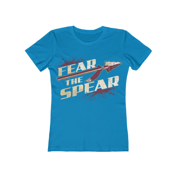 Fear The Spear Ladies Turquoise T-Shirt