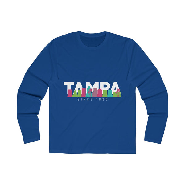 The Bay Long Sleeve royal blue