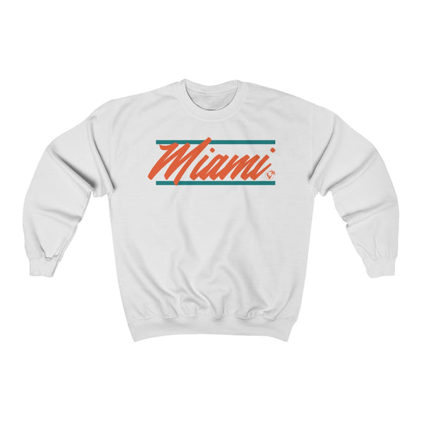U Are Miami White Sweatshirt