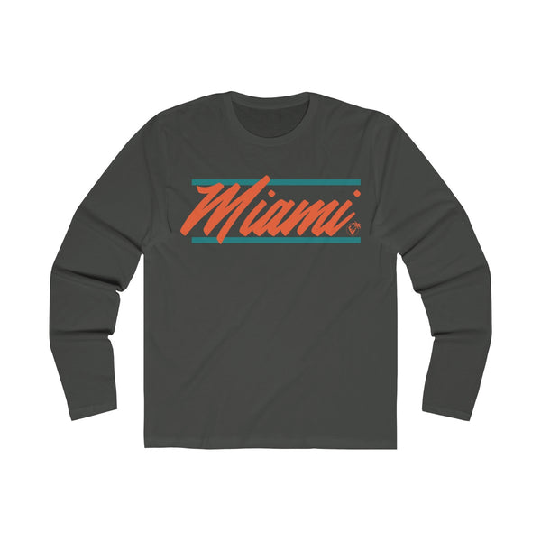 U are Miami Long Sleeve Heavy Meta T-Shirt