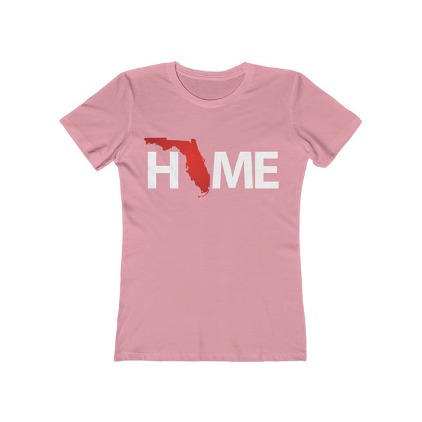 Home Ladies Light Pink T-Shirt