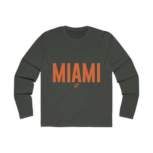 Miami Long Sleeve metal black