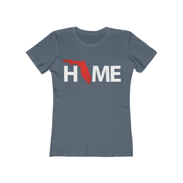 Home Ladies Indigo T-Shirt