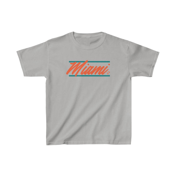 U are Miami Kids Grey T-Shirt