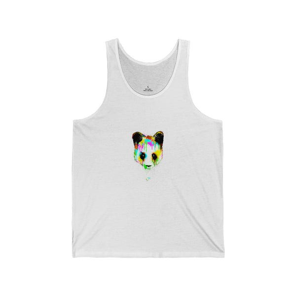 Panda Vibez White Tanks