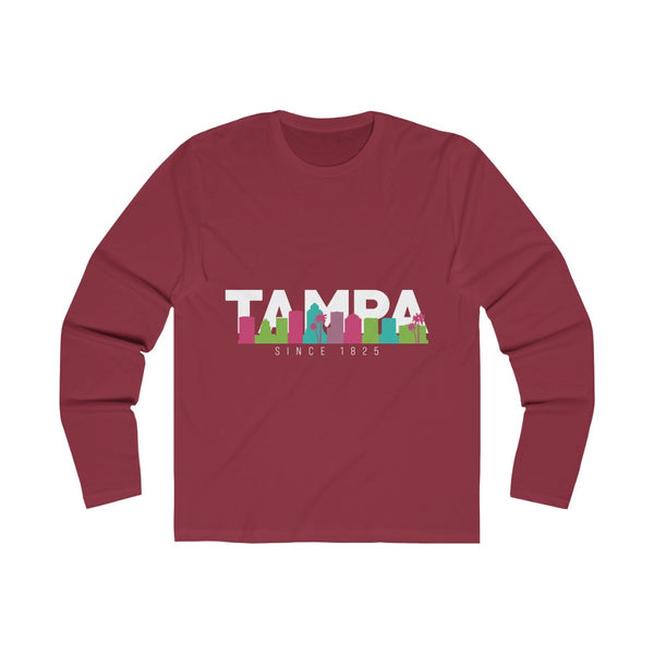 The Bay Long Sleeve scarlet red
